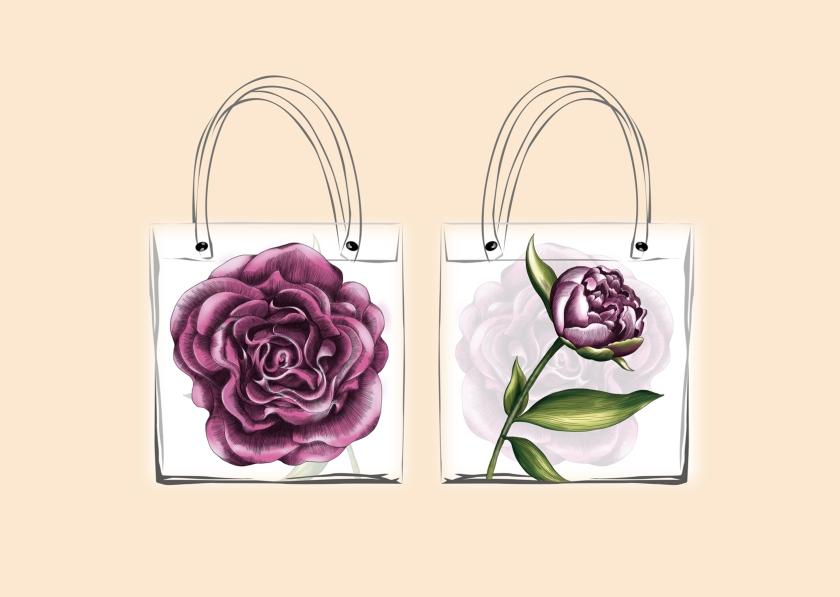 iON Tote Bag Illustration with DDB Singapore