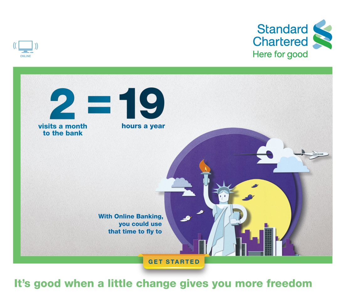 Standard Chartered Bank EDM with TBWA Singapore